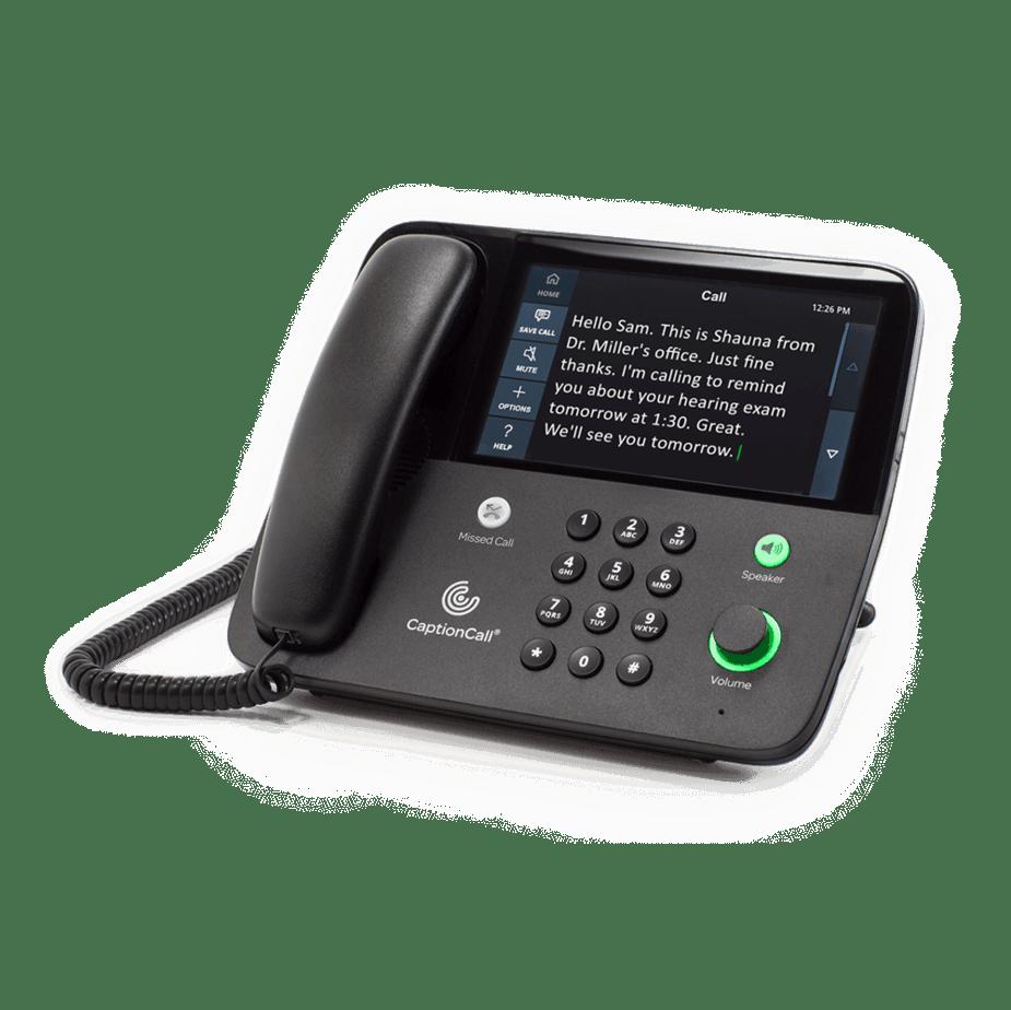 Caption telephone