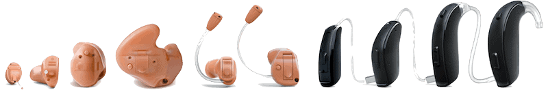 ReSound hearing aid styles