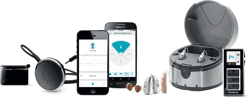 signia hearing aid styles and assistive listening devices